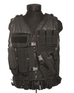 Kamizelka taktyczna Czarna Commando Sklep militarny i outdoorowy