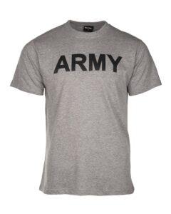 Koszulka Army szara Commando Sklpe Militarny