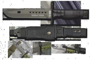 Nóż bagnet RUI Bagnet M4 M16 178 mm Commando Sklep MIlitarny
