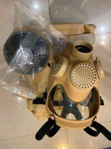 maska przeciwgazowa z filtrem pustynna Commando sklep militarny